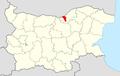 Borovo Municipality Within Bulgaria.png