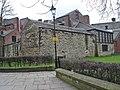Boundary wall, All Saints, Wigan.jpg