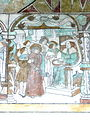 Brøns kirke - Wandmalerei 7 - Pilatus.jpg