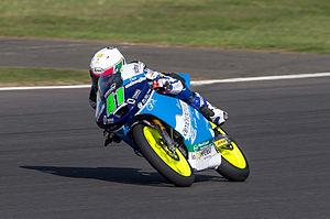 Brad Binder - Binder at the 2013 British Grand Prix