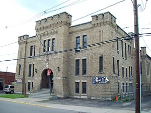 National Register of Historic Places listings in McKean County, Pennsylvania - Image: Bradford Armory Jun 09
