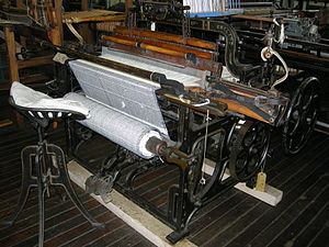 Hattersley loom - Hattersley domestic loom