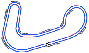 2003 London Champ Car Trophy - Image: Brands Hatch 'Indy' layout