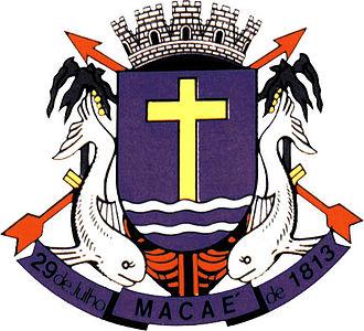 Macaé - Image: Brasao Macae