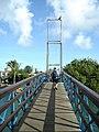 Bridge on the way to dive shop, Plaza Resort Bonaire.jpg