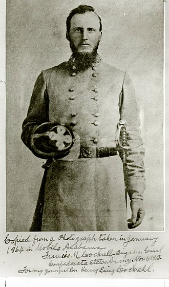 Francis Cockrell - Cockrell in military uniform, January 1864
