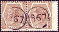 British 6d stamp pair with telegraphic cancel 1567.jpg