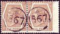 British 6d stamp pair with telegraphic cancel 1567.jpg
