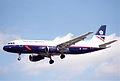 British Airways Airbus A320-111; G-BUSF@LHR;04.04.1997 (5491356515).jpg