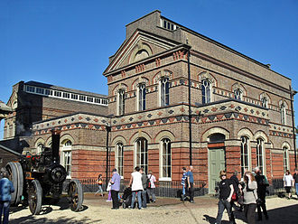 British Engineerium - The former boiler house and engine rooms from the southeast