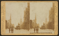 Broad Street, N. from City Hall, Philad'a, Pa, from Robert N. Dennis collection of stereoscopic views.png