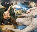 Bronzino (da michelangelo-pontormo), venere e amore, 03.JPG