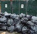 Brooklyn NY assorted photos 12 garbage bags near No Dumping sign.jpg