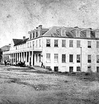History of Tallahassee, Florida - Brown's Inn in 1834.