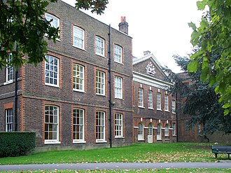 Bruce Castle School - Bruce Castle, the north elevation