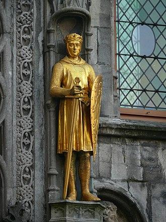 Philip I, Count of Flanders - Image: Bruges basilica Philip of Flanders