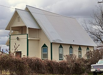 National Register of Historic Places listings in Owyhee County, Idaho - Image: Bruneau Episcopal Church Bruneau Idaho