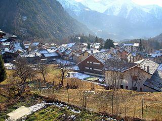 Brusson, Aosta Valley Comune in Aosta Valley, Italy