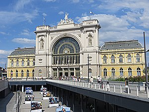 Transport in Hungary - Keleti Railway Station, Budapest