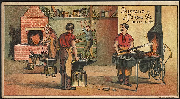 Buffalo Forge Co Tradecard Front
