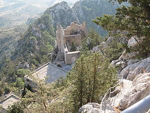 Buffavento Castle - Image: Buffavento castle 5
