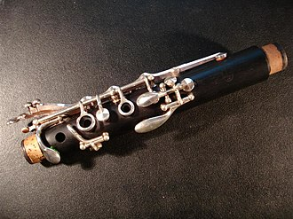 Clarinet - Upper joint of a Böhm system clarinet