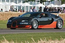6. Bugatti Veyron 16.4 Super Sport (2.5 second)