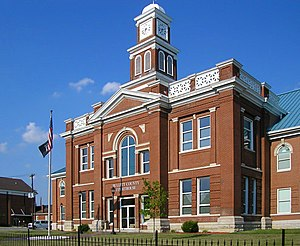 Bullitt County Courthouse in Shepherdsville