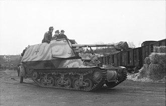 Marder I - Marder I, 1943