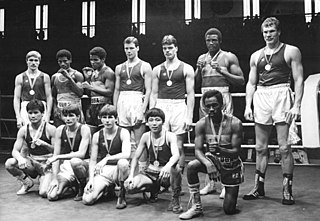 Candelario Duvergel Cuban boxer