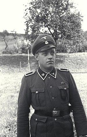 Scharführer - An SS-Scharführer serving in KZ Mauthausen