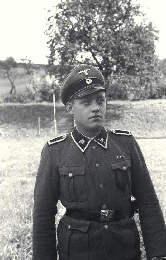 Bundesarchiv Bild 192-025, KZ Mauthausen, SS-Scharführer