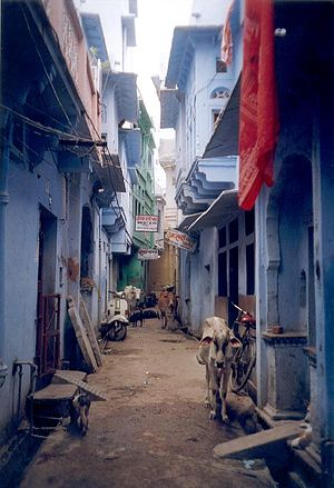 Bundi - Image: Bundi Alley