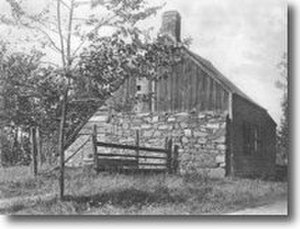 Burdett's Landing - Bourdette house, used by Gen. Washington during the Revolution