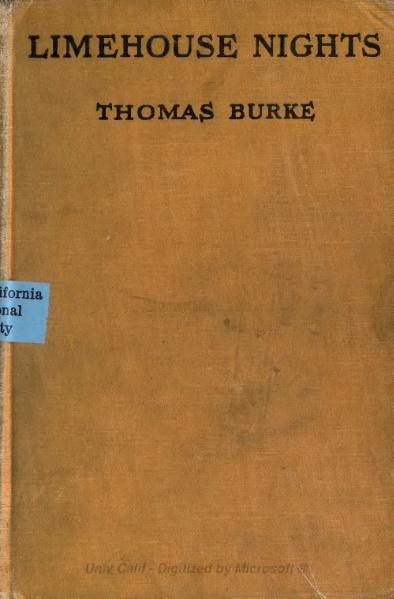 File:Burke - Limehouse Nights (McBride, 1919).djvu