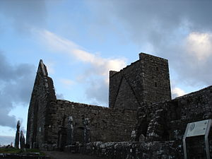 Dominicans in Ireland - Ruins of the Dominican Friary at Burrishoole, County Mayo
