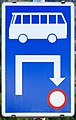 Bus routing road sign, Hallstatt.jpg