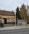 Bus stop and Town Hall, 2019 Isaszeg.jpg