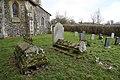 Bush End, Essex, England ~ St John Evangelist exterior ~ graveyard east 01.jpg