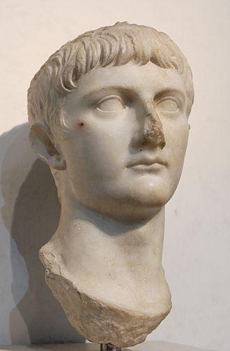Drusus Julius Caesar - Bust of Germanicus.