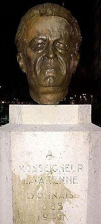 Buste de Joseph Lavarenne Place Benoît-Crépu à Lyon.JPG