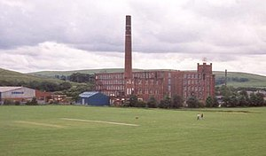 Milnrow - Butterworth Hall Mill was Milnrow's last cotton mill.
