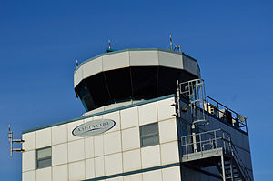 Buttonville Municipal Airport - Closeup of the new Air Traffic Control Tower.