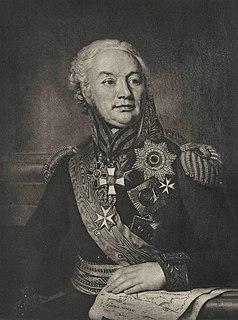 Friedrich Wilhelm von Buxhoeveden Russian general