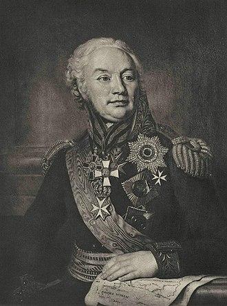Friedrich Wilhelm von Buxhoeveden - Buxhoevden