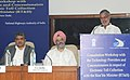 C.P. Joshi delivering the inaugural address at the 'Technical workshop with Technology Providers and Concessionaires on the Implementation of Electronic Toll Collection (ETC)', in New Delhi. The Chairman, UIDAI.jpg