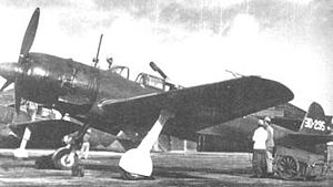 Nakajima C6N - Nakajima C6N-1 night-fighter variant. Note the obliquely mounted 30mm cannon in the fuselage.