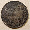 CANADA, VICTORIA 1882 -ONE CENT a - Flickr - woody1778a.jpg