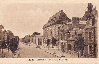 Chauny - Image: CAP 10 pour Lacour CHAUNY Boulevard Gambetta