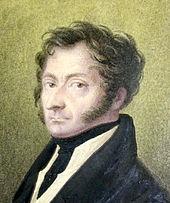 Selbstbildnis des Carl August Schwerdgeburth (Quelle: Wikimedia)
